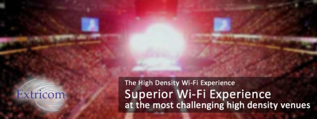 Extricom High Density Wi-Fi Experience