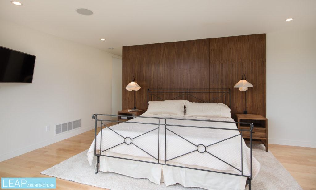 Modern Master Suite Interior Renovation LEAP Architecture