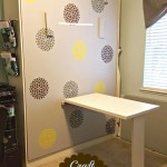 How to Make an Easy Wall Mounted Table DIY Style!