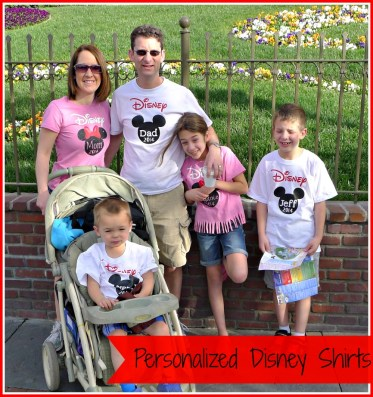 personalized Disney shirts