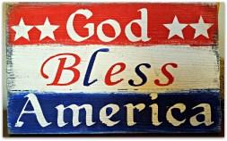 america sign