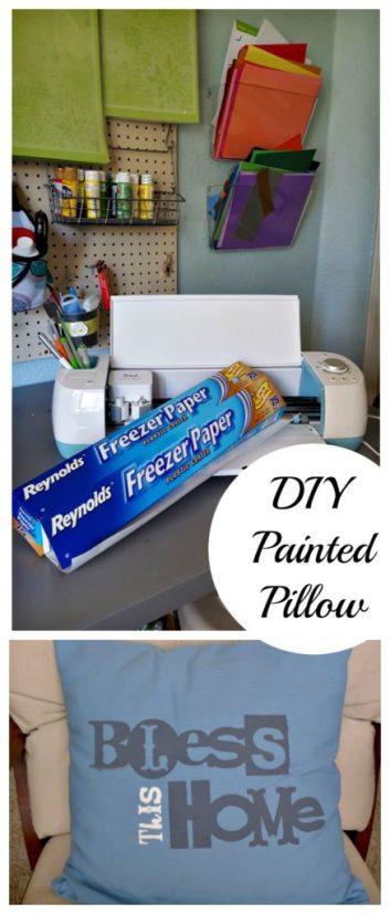 freezer paper pillow