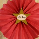 Paper Fans DIY Tutorial