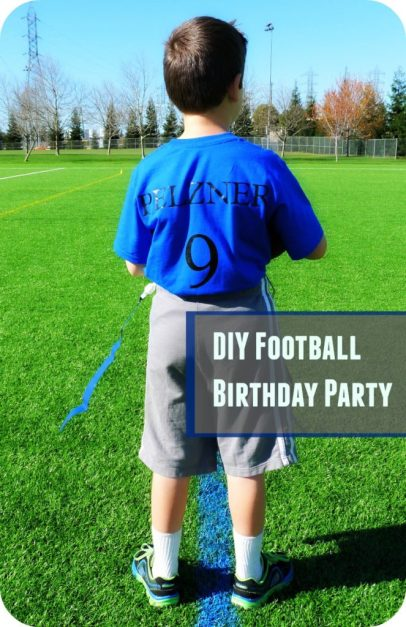 football themed party