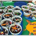 Dinosaur Dirt Cup Desserts