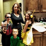 DIY Family Halloween Avenger Costumes