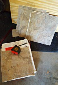 vinyl tile diy