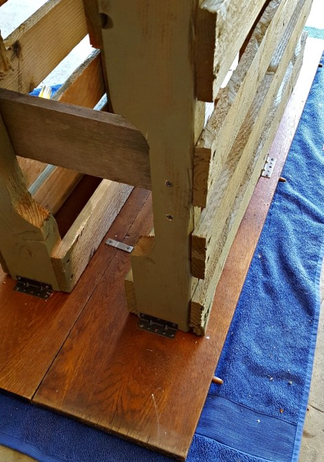 corner brackets diy table