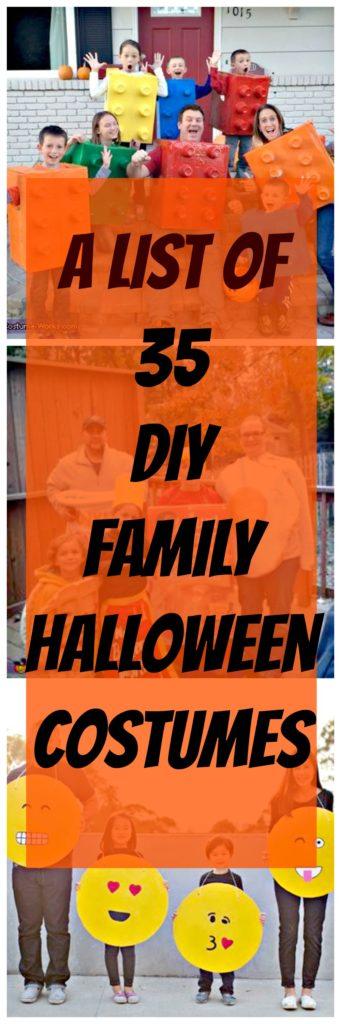 diy halloween family costumes