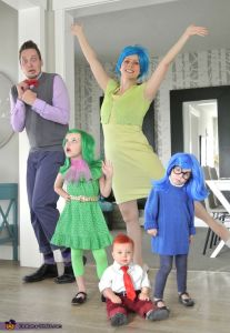insidie out family costumes