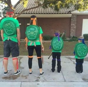 diy ninja turtles