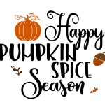 Free Fall Pumpkin SVG File