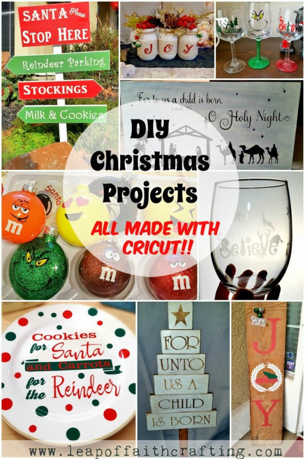 Cricut Ideas for Christmas