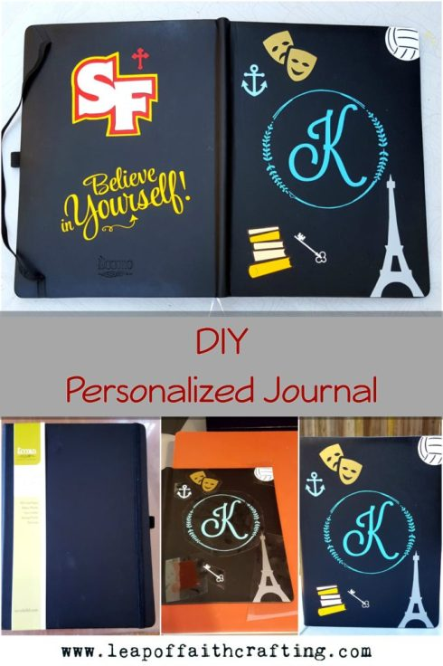 faux journal DIY journal cover