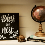 DIY Chalkboard Sign Tutorial