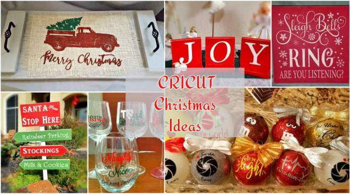 cricut ideas christmas