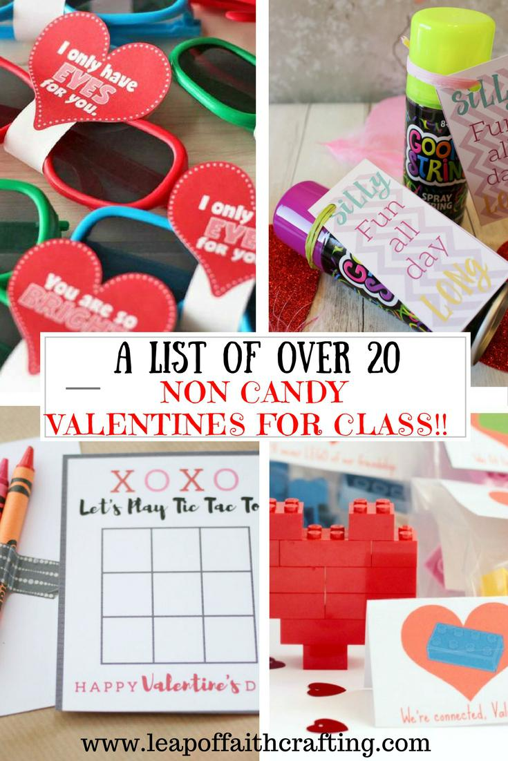 Non Candy Valentines For Class Roundup A List Of Over 20