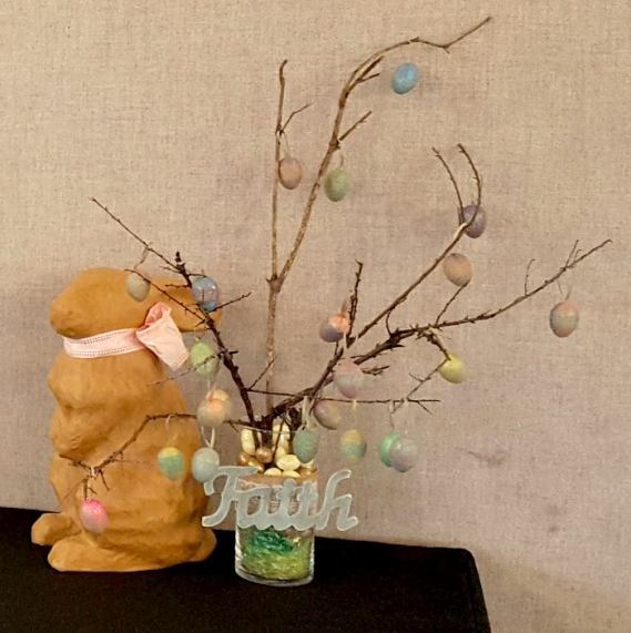 Easter twig tree