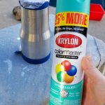 Stainless Steel Spray Paint for DIY Custom Tumblers!
