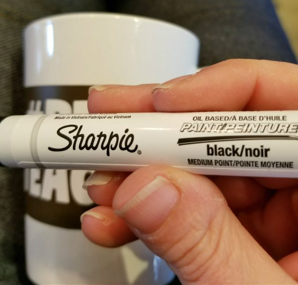 how to make a sharpie mug