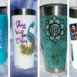 How to Easily Make Your Own Personalized Yeti Cups or Tumblers!
