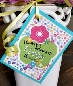 Easy and simple teacher appreciation ideas leap of faith crafting small gifts for teachers free printable negle Image collections