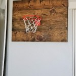 Wall Basketball Hoop DIY From Pallet Wood!