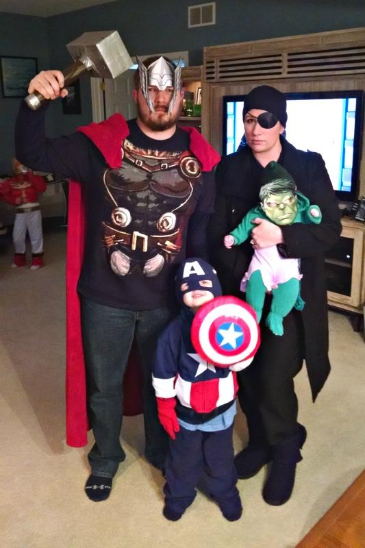 diy family halloween costumes