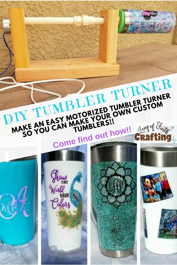 how to make a tumbler turner pin