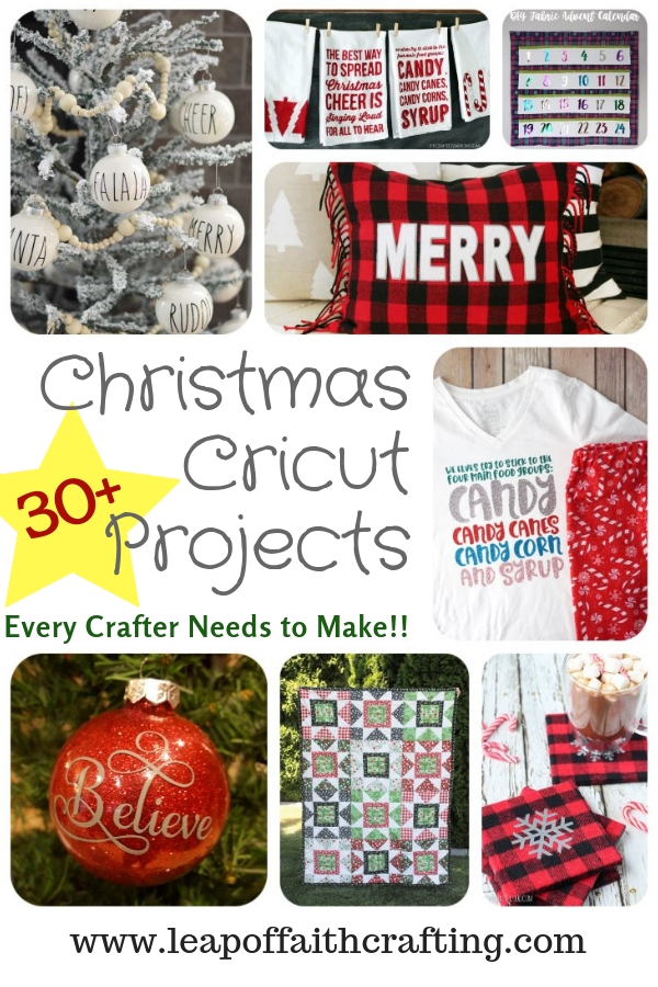 christmas cricut projects
