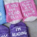 Fun Gift Giving ~ FREE SVG for DIY If You Can Read This Socks!