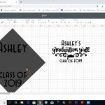 Cricut Graduation Party Ideas Personalized Cap And Napkins Leap Of Faith Crafting