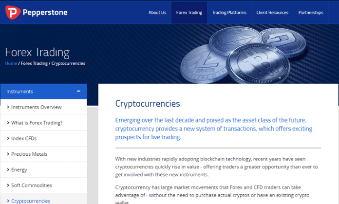Pepperstone-trade-cryptocurrencies Pepperstone adds crypto trading in Bitcoin, Ethereum, Dash and Litecoin
