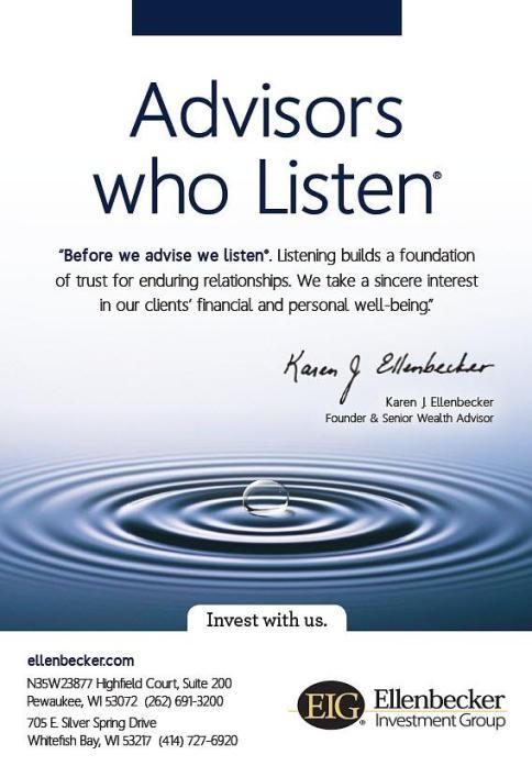 Ellenbecker Investment Group Print Campaign