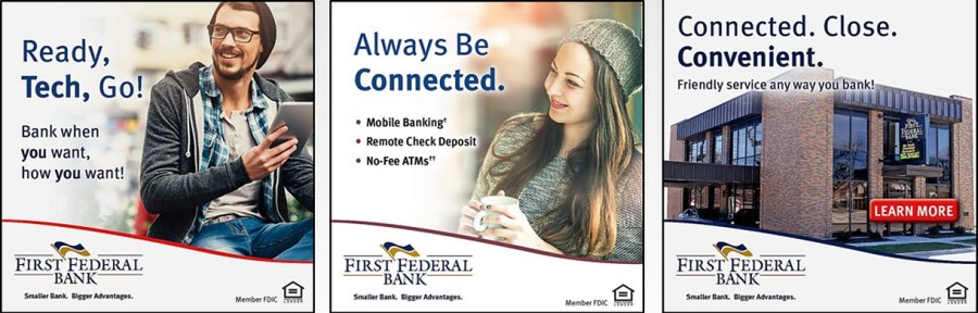 First Federal Bank Connected Campaign
