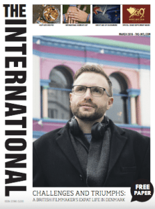 the international March 2019