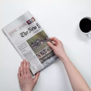 Personalized Printed Newspaper