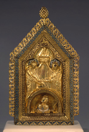 Reliquary shrine of St Monulph