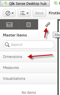 How to create Master Items in Qlik Sense | | Learn QlikView