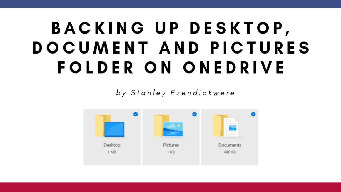 Known folder backup in onedrive