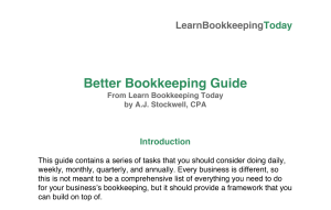 Better Bookkeeping Guide Preview Image