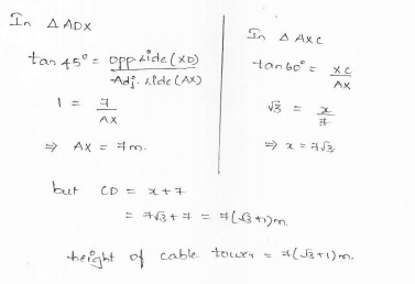 RD-Sharma-class 10-maths-Solutions-chapter 12 - Applications of Trigonometry -Exercise 12.1 -Question-28_1