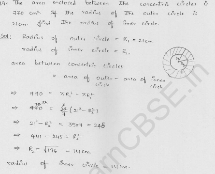 RD-Sharma-class 10-maths-Solutions-chapter 15-Areas related to Circles- Exercise 15.1-Question-19