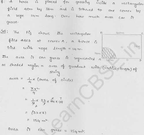 RD-Sharma-class 10-maths-Solutions-chapter 15-Areas related to Circles- Exercise 15.1-Question-7