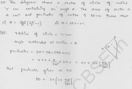RD-Sharma-class 10-maths-Solutions-chapter 15-Areas related to Circles- Exercise 15.2-Question-20