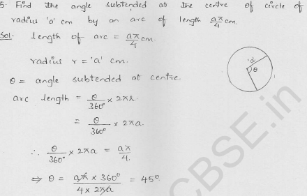 RD-Sharma-class 10-maths-Solutions-chapter 15-Areas related to Circles- Exercise 15.2-Question-5