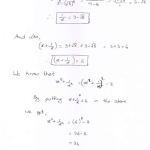 RD Sharma class 9 maths Solutions chapter 3 Rationalisation Exercise 3.2 Question 8_1