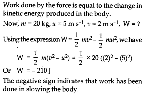 NCERT Solutions for Class 9 Science Chapter 11 Work Power and Energy 5