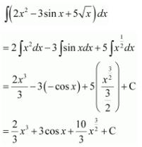 Maths NCERT Class 12 Solutions Chapter 7 Integrals Ex 7.1 Q 17
