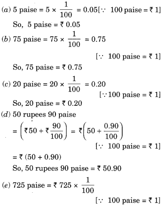 NCERT Solutions For Class 6 Maths Chapter 8 Decimals Exercise 8 4